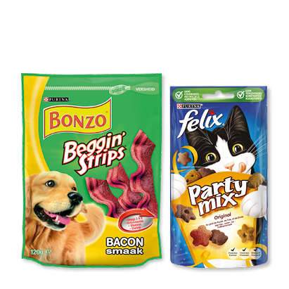categorie-afbeelding Dierensnacks Bonzo, Felix of Dentalife