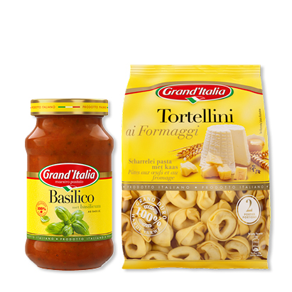 categorie-afbeelding Grand'Italia pastasaus, tortellini of ravioli