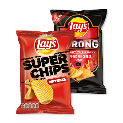 categorie-afbeelding Lay's Superchips, Cheetos, Hamka's of Strong
