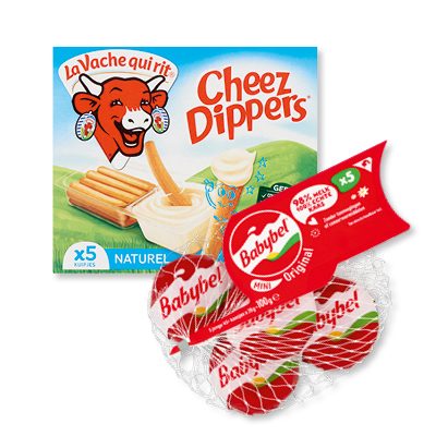 categorie-afbeelding Mini babybel of La Vache Qui Rit cheezedippers