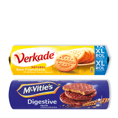 categorie-afbeelding Verkade San Francisco, kids koek of McVities Digestive