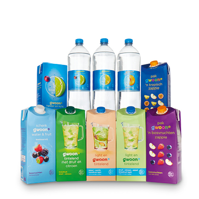 categorie-afbeelding g'woon tintelend, zappie, water & fruit of helder & licht